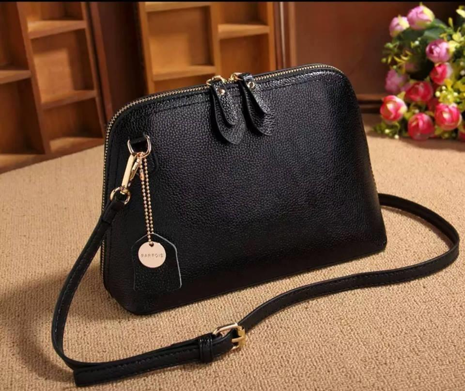 Leather Sling Bag Ready Stock