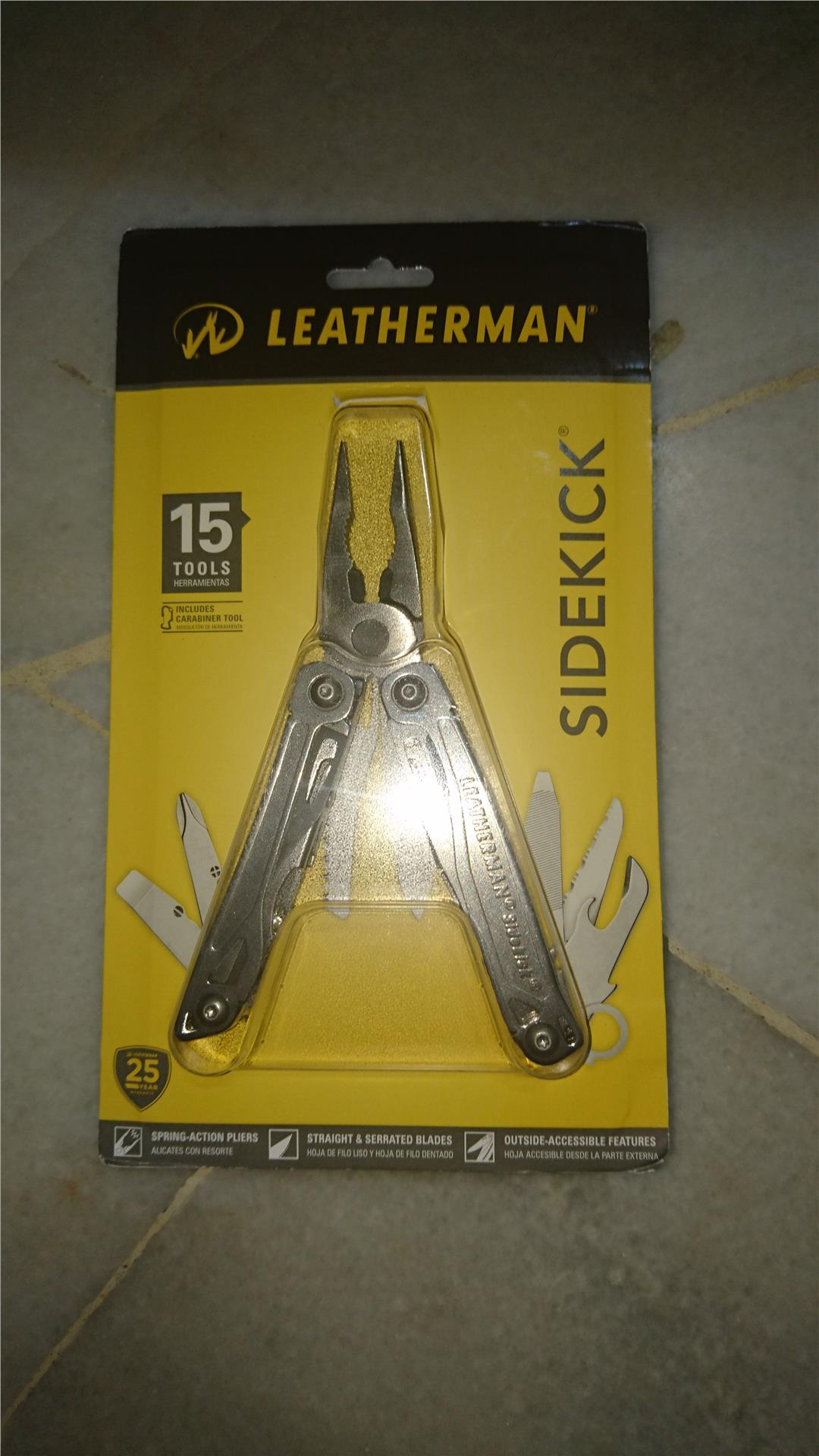Leatherman Sidekick Multitools Pliers (14 Tools)