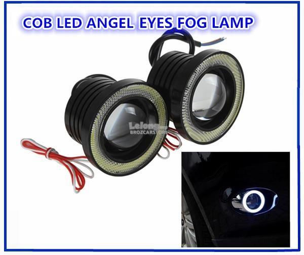 LED 3.5' Fog Angel Eyes / Fog Light / Fog Lamp R500 (White LED)