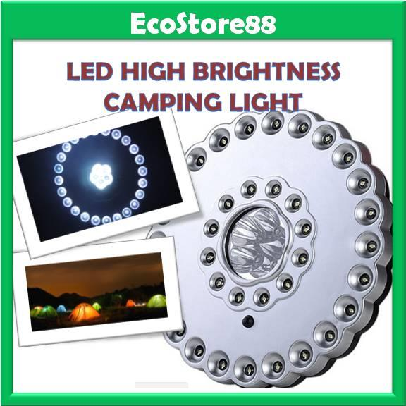 LED Camping Light 36 + 5 High Brightness