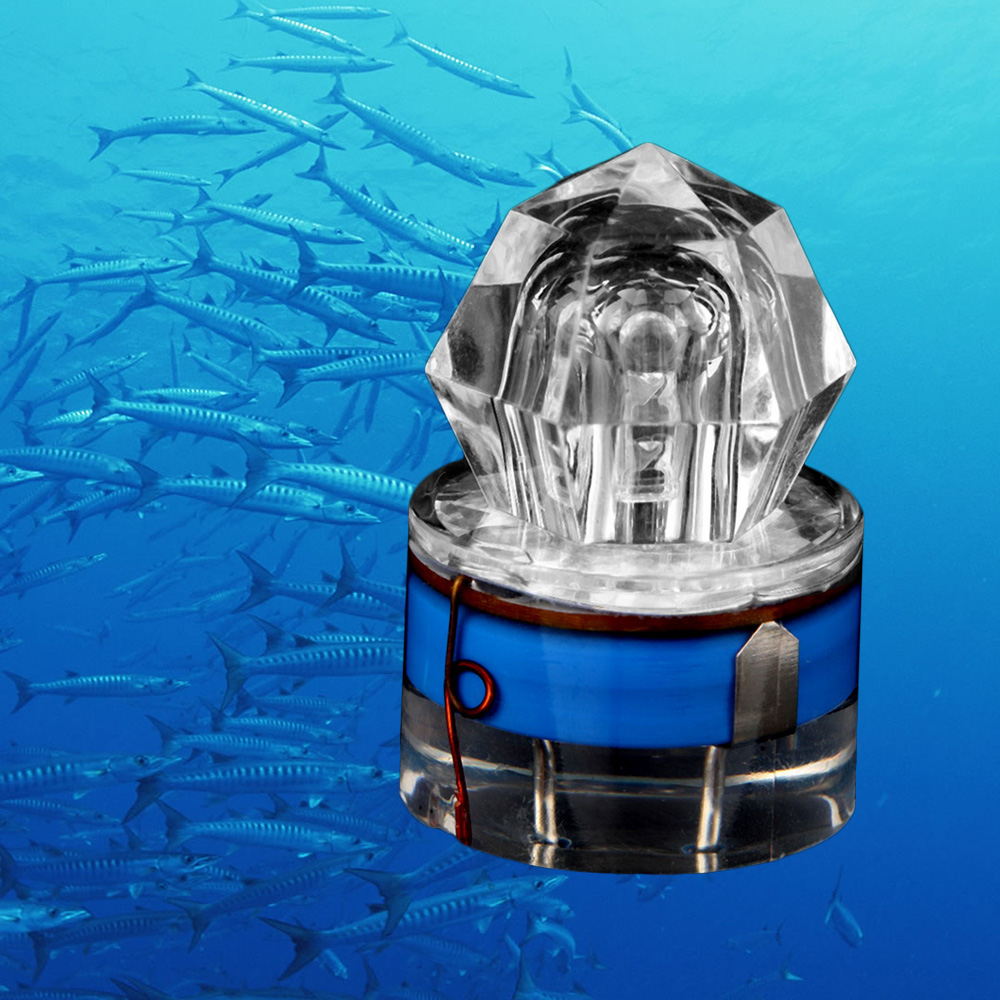 LED Diamond Shape Deep Sea Fishing Lamp LED Attracting fishing Light f..