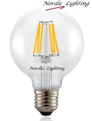 LED Filament Bulb (LY-G95/6W/E27/WW)