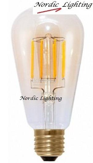 LED Filament Bulb (LY-ST64/4W/E27/WW)