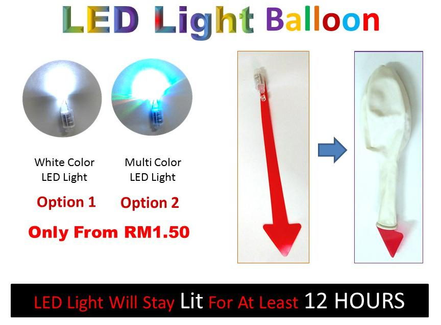 LED Light Up Balloon (Propose / Party / Wedding / Event)