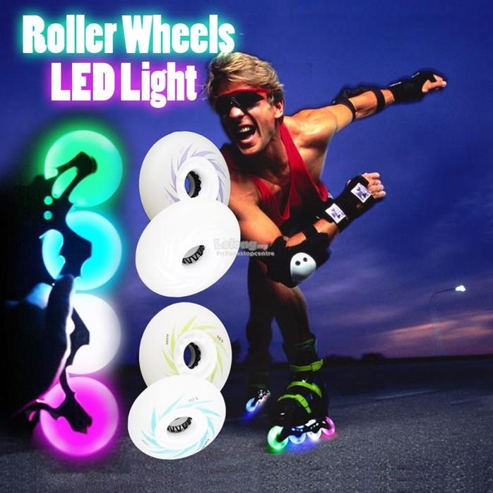 LED Light Roller Wheels