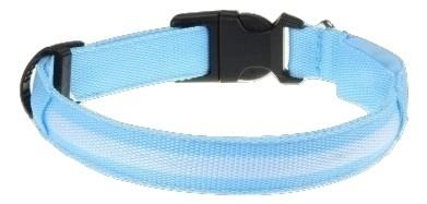 LED Sky Blue Dog Collar
