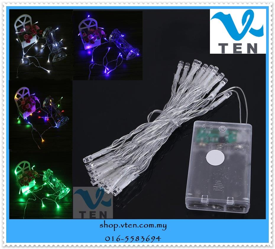 Led String Lights With Battery : LED String Light Use Battery Fairy (end 11/16/2018 3:15 PM)