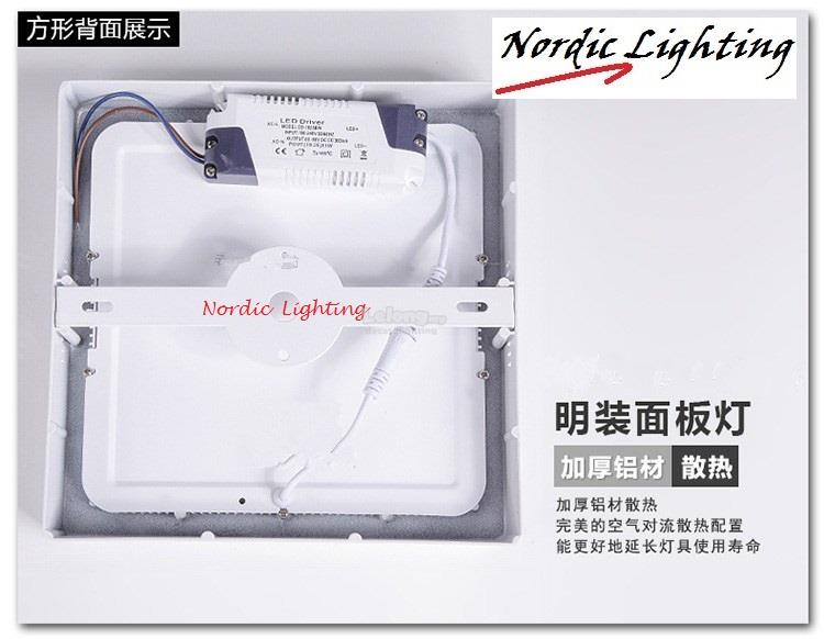 LED SURFACE DOWNLIGHT-18W-SQUARE (AY-18W-DL/WW)