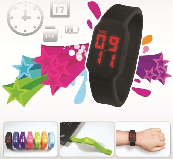 LED Wrist Watch, 16GB USB Pendrive/Flash Drive, Memory card reader