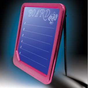LED Writing and Message Board with Fluorescent Marker