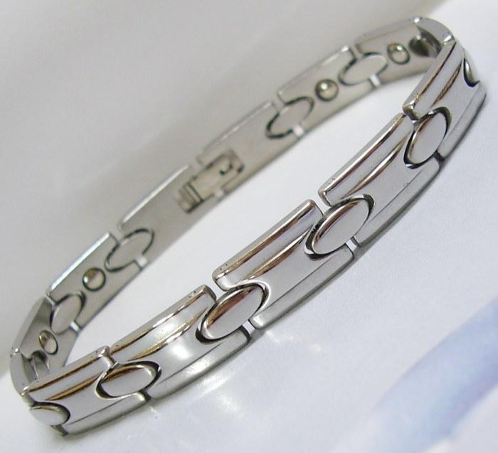 LEGACZY SV 316L Stainless Steel Magnetic Bracelet Therapy Arthritis.