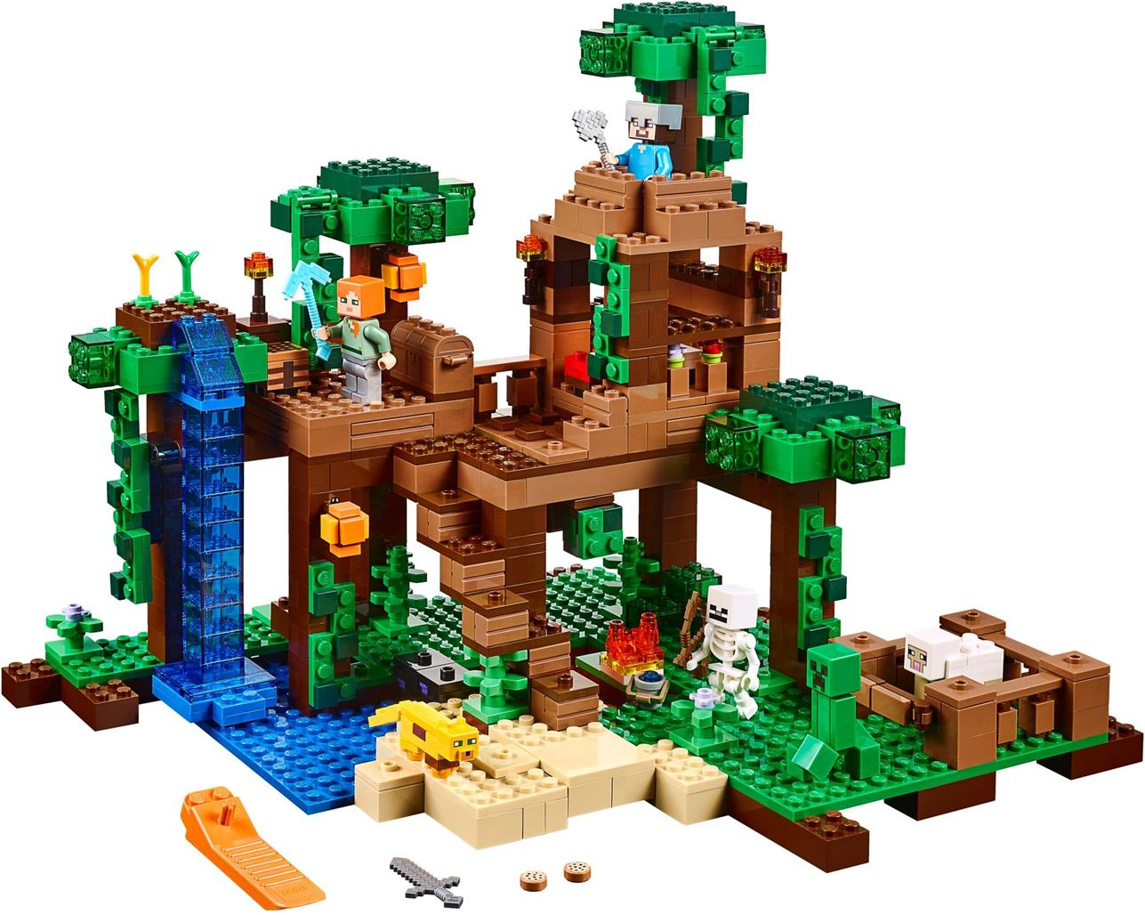 LEGO 21125 Minecraft The Jungle Tree House NEW MISB