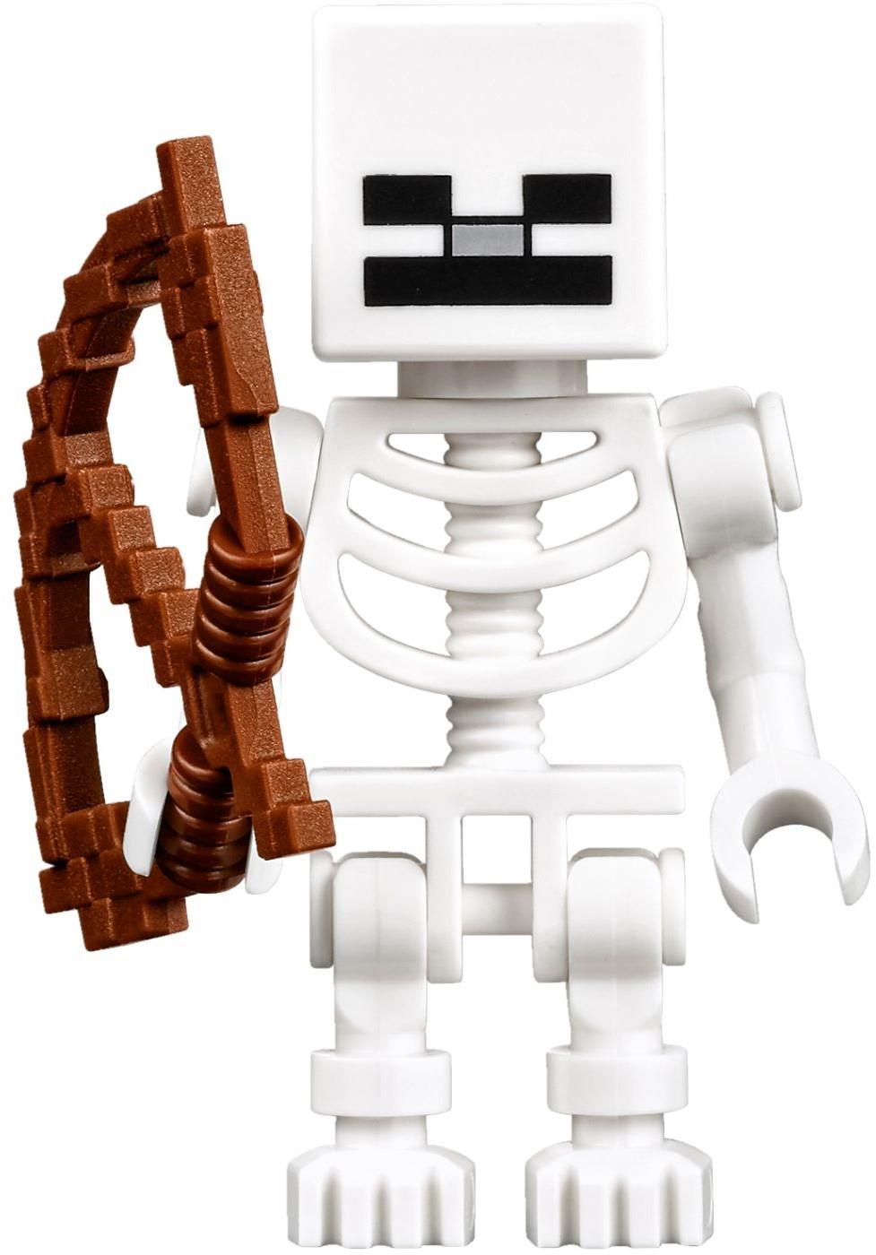 LEGO 21127 Minecraft SKELETON Minifigure NEW