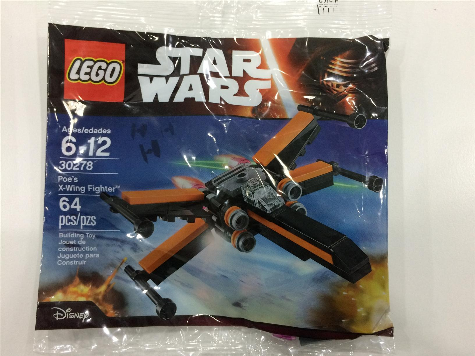 Lego 30278 Star Wars Poe''s X-Wing Fighter� Polybag