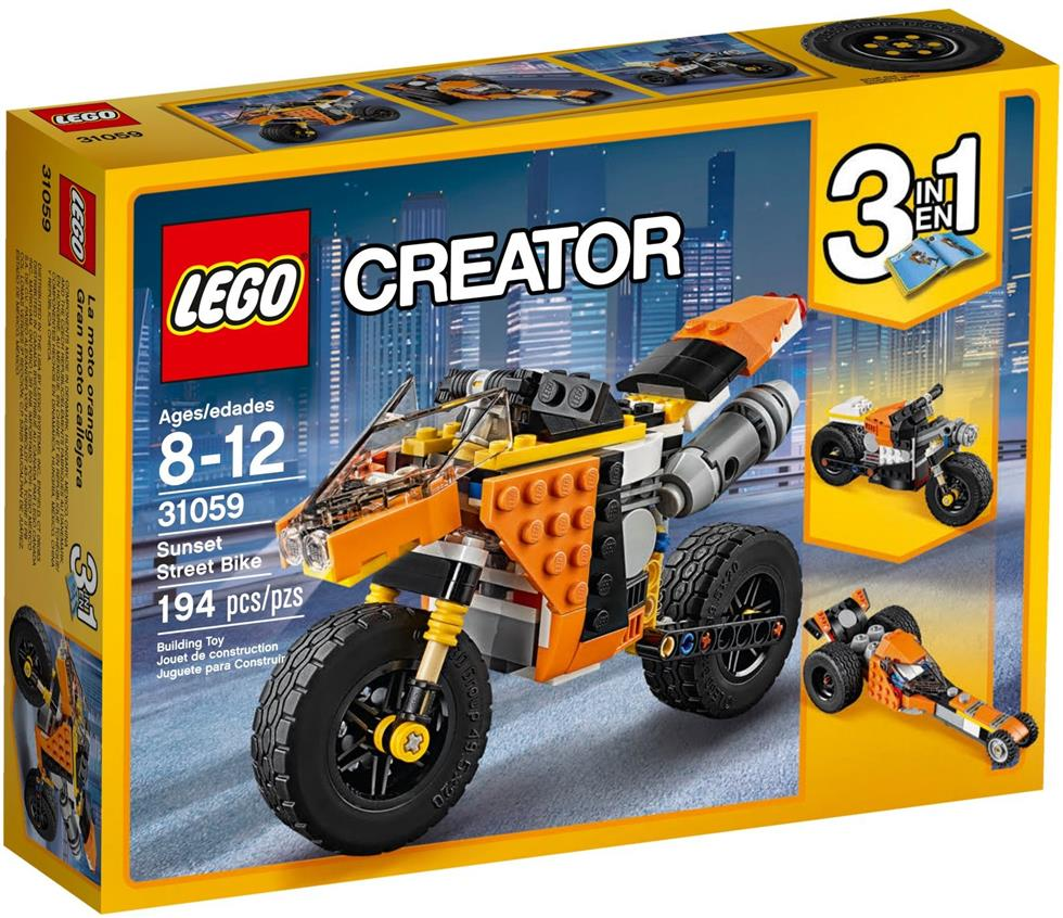 LEGO 31059 Creator Sunset Street Bike NEW MISB