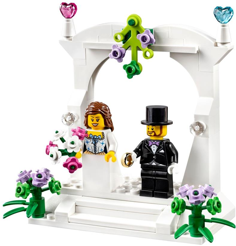 LEGO 40165 Exclusive Minifigure Wedding Favour Set NEW MISB