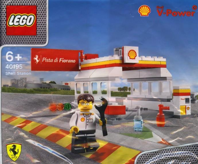 LEGO 40195 Shell Station Polybag RARE / NEW in Bag