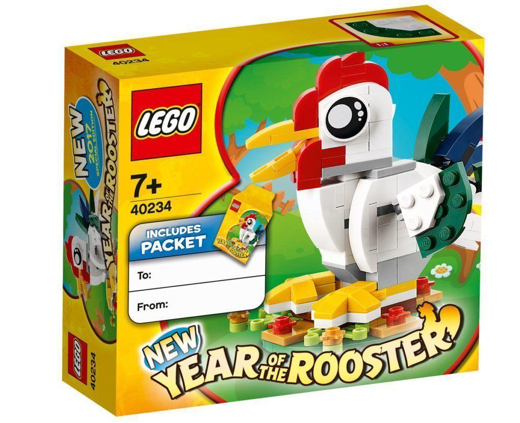LEGO 40234 Exclusive Year of the Rooster NEW MISB