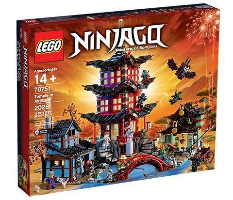 Lego 70751 Ninjago Temple of Airjitsu (New, MISB)