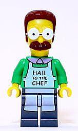 LEGO 71006 Simpsons Ned Flanders Minifigure NEW