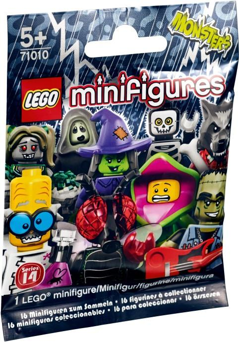 LEGO 71010 Minifigures Series 14 Monsters FULL SET OF 16 SEALED on han