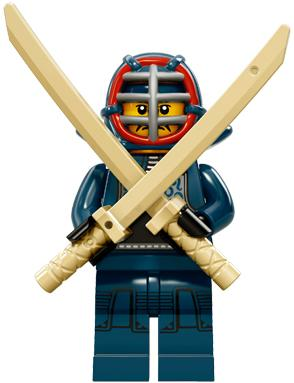 LEGO 71011 Minifigure Series 15 Kendo Fighter NEW SEALED