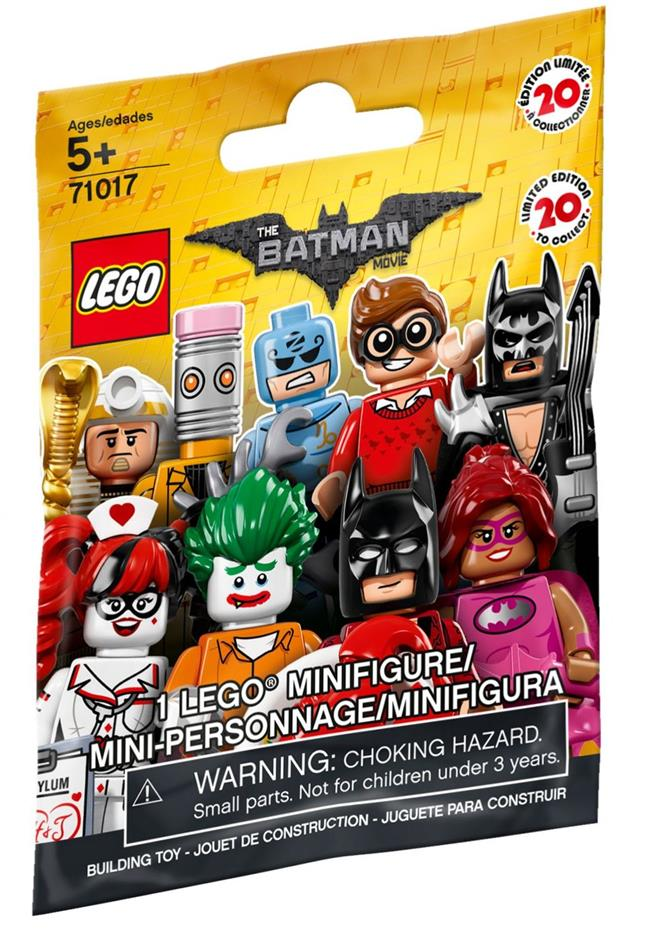 LEGO 71017 Lobster-Lovin Batman Minifigure Series NEW SEALED