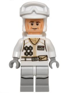 LEGO 75097 Star Wars Hoth Rebel Minifigure NEW + Blaster
