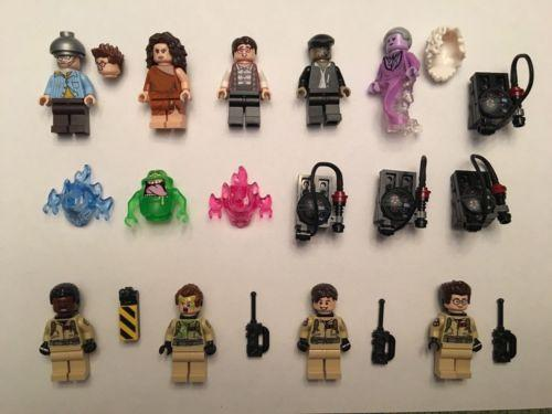 Lego 75827 Ghostbusters Complete 12 Minifigures NEW