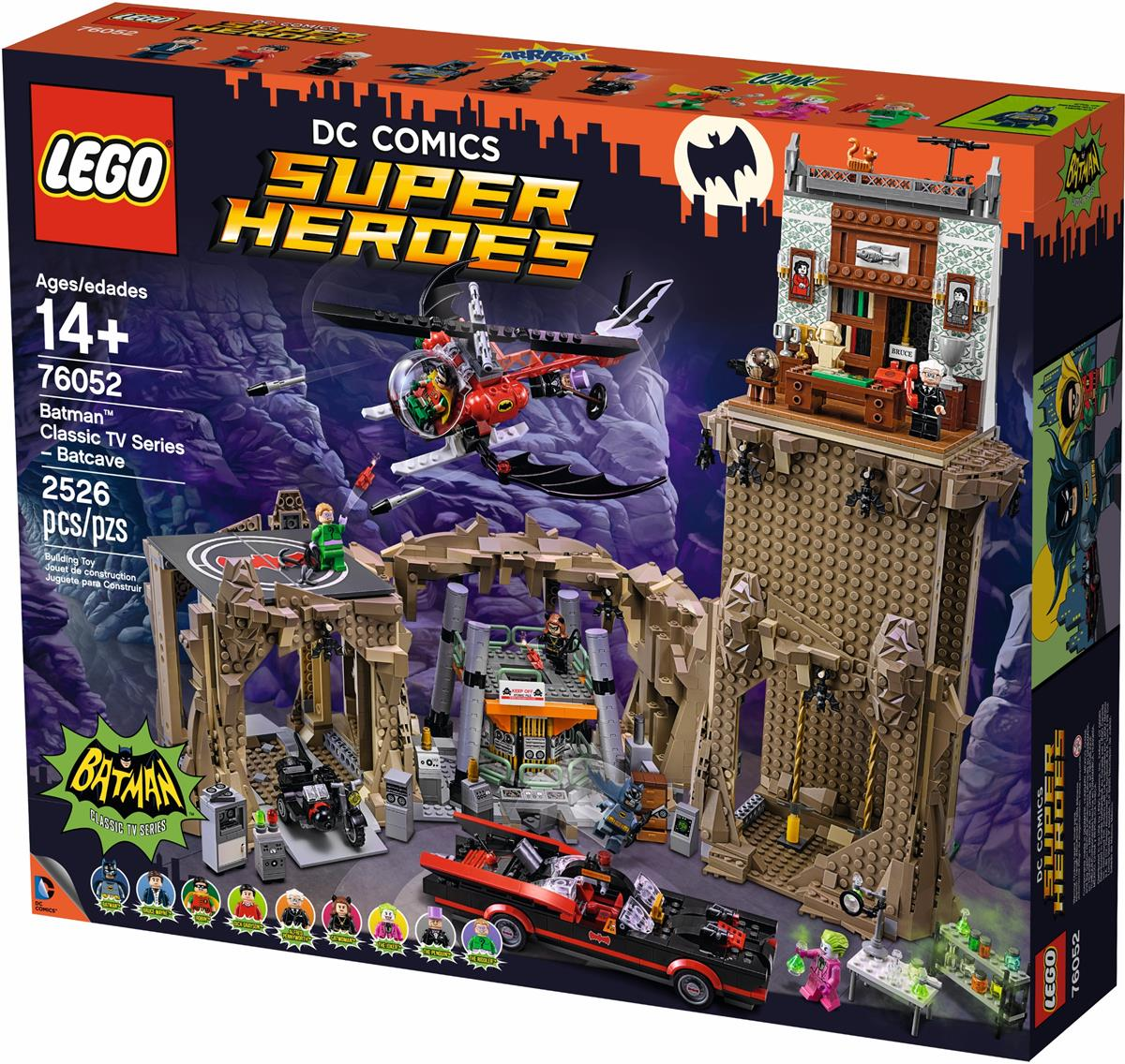 LEGO 76052 DC Super Heroes Batman Classic TV Series - Batcave NEW MISB