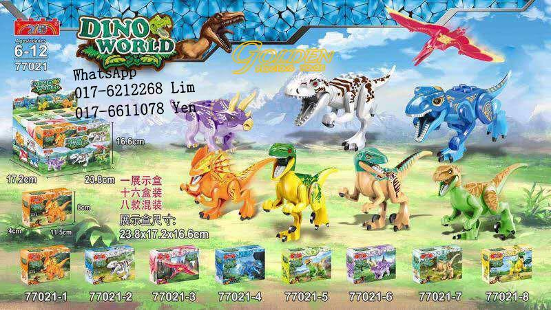 Lego Compatible 77021 Avengers Dino World Mini figures