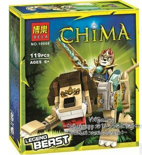 Lego Compatible BELA 10068 Legends of Lion Legend Beast
