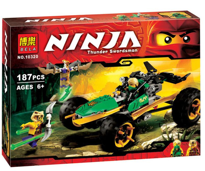 Lego Compatible BELA 10320 Ninjago Jungle Raider Building Blocks