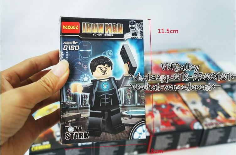 Lego Compatible Decool 0160 Tony Strak Minifigure