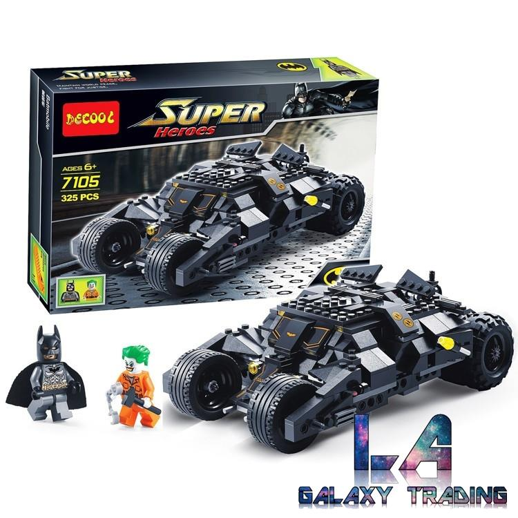 Lego Compatible Decool 7105 Batman Tumbler Building Blocks