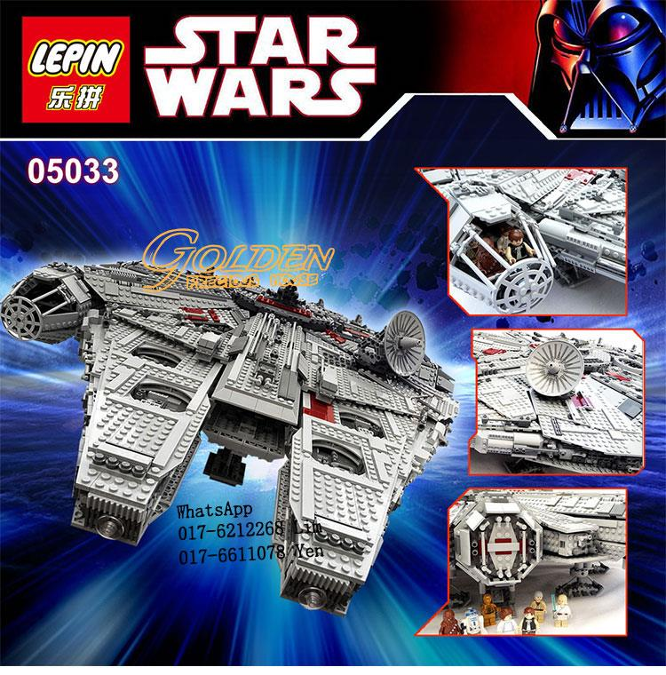 Lego Compatible LEPIN 05033 Star Wars UCS Millennium Falcon