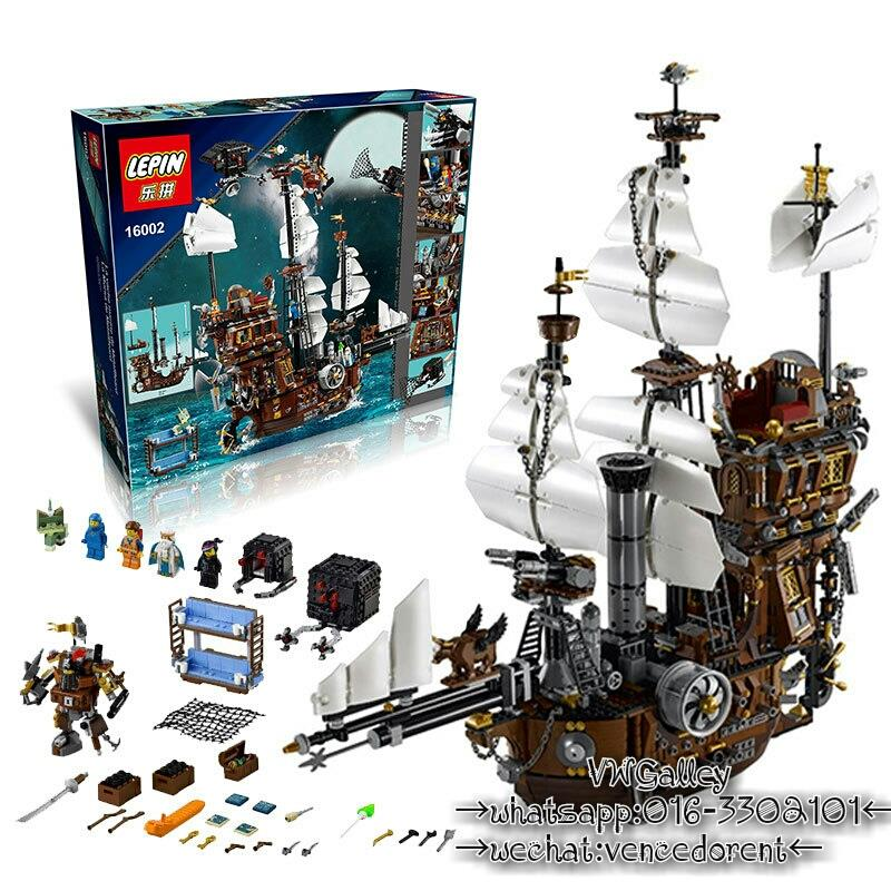 Lego Compatible LEPIN 16002 MetalBeard's Sea Cow Pirate Ship