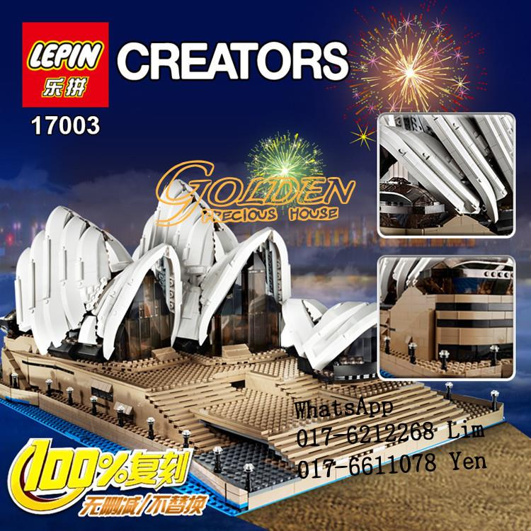 Lego Compatible LEPIN 17003 Creator Sydney Opera House