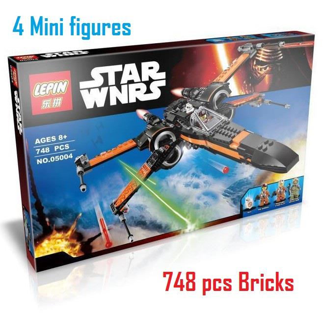 Lego Compatible Lepin Star Wars Poe X Wing