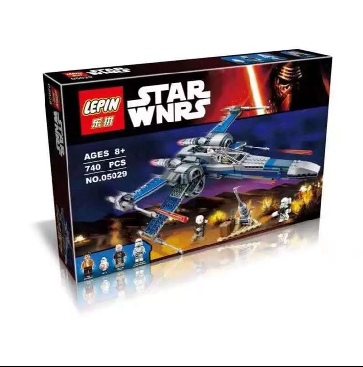 Lego Compatible LEPIN STAR WARS Resistance X-Wing Fighter