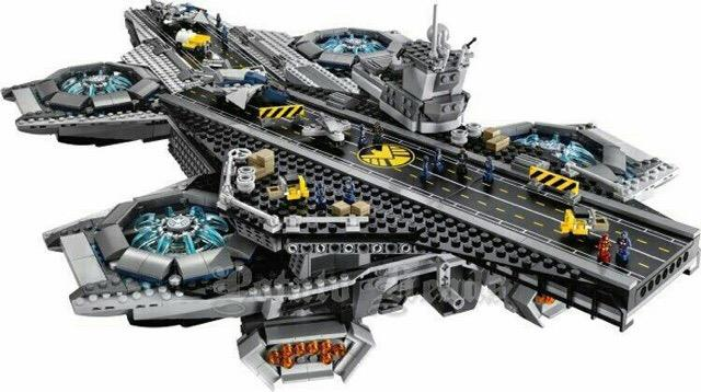 Lego Compatible LEPIN Super Heroes The SHIELD Helicarrier