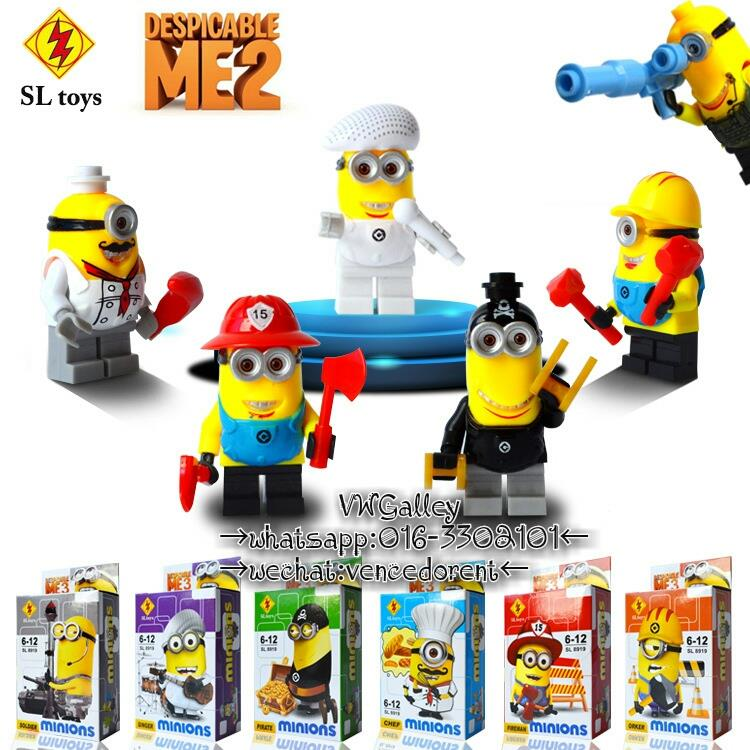 Lego Compatible SLTOYS SL8919 Minion Series Minifigure