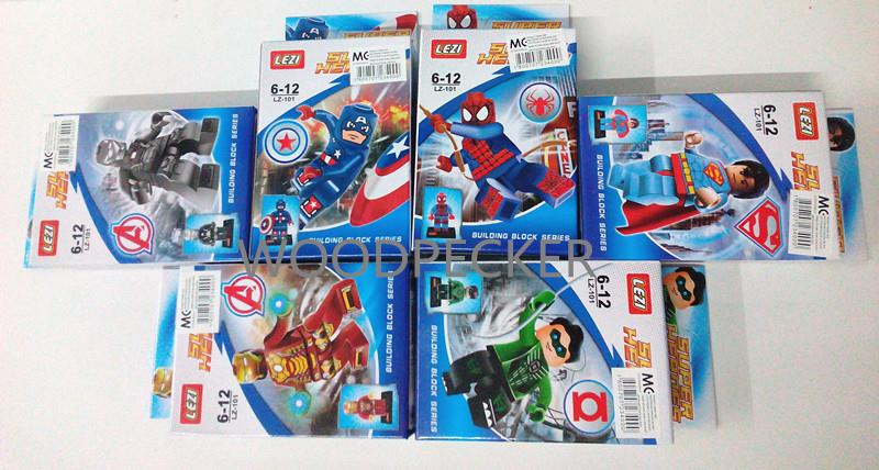 Lego Compatible -Super Heroes Mini Figures Set (6pcs) 622390