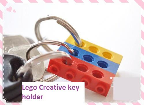 Lego DIY Creative Key Holder