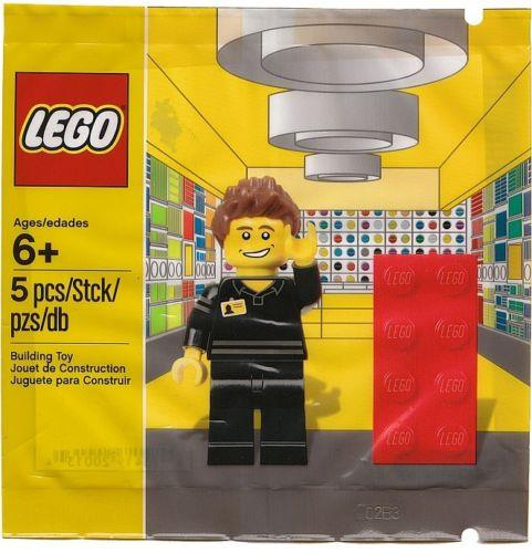 LEGO Exclusive 5001622 Lego Store Employee NEW in Bag / RARE