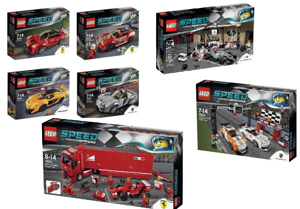lego full 7 sets of speed champion n end 5 7 2018 10 15 pm. Black Bedroom Furniture Sets. Home Design Ideas