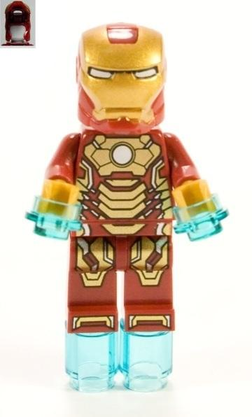 LEGO Iron Man 3 Mark 42