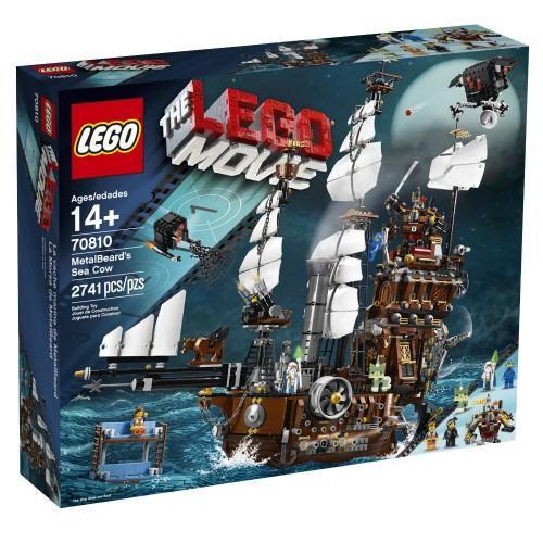 LEGO MOVIE 70810 METAL BEARD'S SEA COW : NEW & SEALED