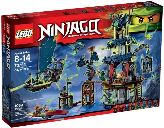 LEGO Ninjago 70732 Exclusive City of Stiix NEW MISB