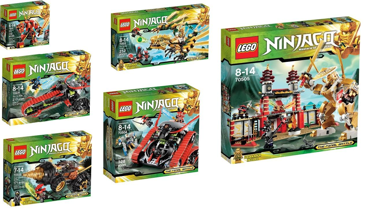 how to build lego ninjago sets